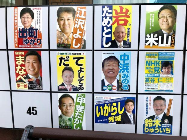 高槻市議会選挙